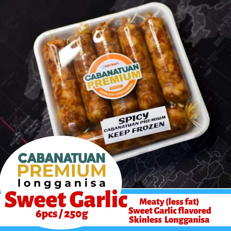 cabanatuan sweet garlic skinless longganisa